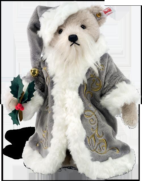 Christmas Bear.Steiff Magical Christmas Musical Teddy Bear