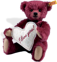 click to see Steiff  Florian Teddy Bear in detail