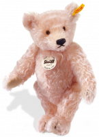 click to see Steiff  1920 Classic In A Gentle Rose Colour - 35cms - Makes An I in detail
