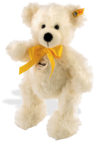 click to see Steiff  Lotte Classic With Shiny Yellow Bow in detail