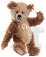 click to see Steiff  Cappuccino Teddy Bear in detail
