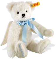 click to see Steiff  Personalised Guardian Angel (blue) in detail