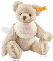 click to see Steiff  Personalised Birth Bear - 27cm in detail