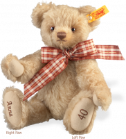 click to see Steiff  Personalised Celebration Bear in detail