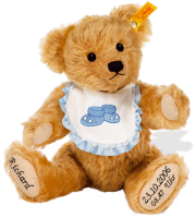 click to see Steiff Personalised Birth Bear - 29cm in detail