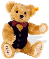 click to see Steiff Personalised Bridegroom Bear - 29cm in detail