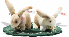 click to see Steiff Rabbit Pin Cushion Set in detail