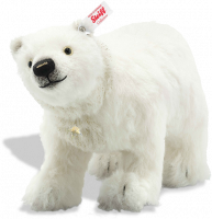 click to see Steiff  Winter Polar Bear - Put Me Somewhere Very Special in detail