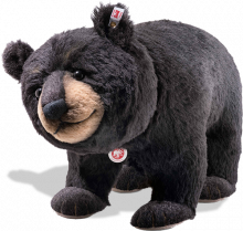 click to see Steiff Mr Big Black - Handsome Special Gift in detail