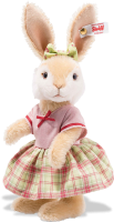 click to see Steiff  Rabbit Girl in detail