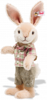 click to see Steiff  Rabbit Boy in detail