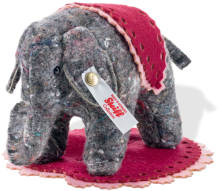 click to see Steiff  Designer's Choice Uli Little Elephant (pre-order Now) in detail