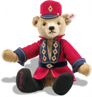 click to see Steiff  Nutcracker Musical Teddy Bear in detail
