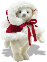 click to see Steiff  Nicola Christmas Teddy Bear in detail