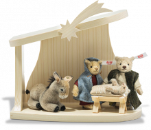 click to see Steiff  Nativity Scene 2020 With Baby Jesus in detail
