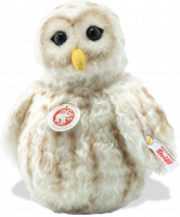 click to see Steiff  Snowy Owl Roly Poly in detail