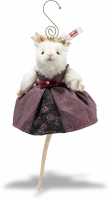 click to see Steiff  Mouse Queen Ornament in detail