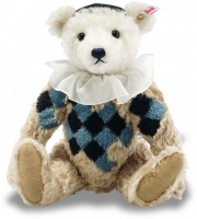 click to see Steiff  Designer's Choice Pablo Teddy in detail
