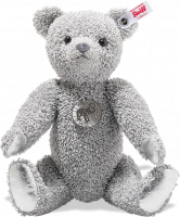 click to see Steiff  Platinum Paper Bear - Only 919 Pieces Made Worldwide in detail