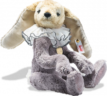 click to see Steiff Teddies For Tomorrow Lavender Rabbit in detail