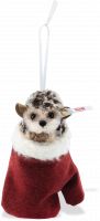 click to see Steiff  Hedgehog In A Mitten Ornament in detail