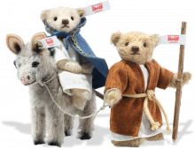 click to see Steiff  Nativity Scene 2021 in detail