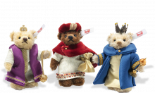 click to see Steiff  Three Holy Kings Set in detail