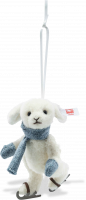 click to see Steiff  Rabbit Ice Skater Ornament in detail