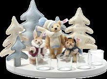 click to see Steiff  Winter Wonderland Set in detail