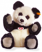 click to see Steiff  Panda Ted in detail