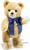 click to see Steiff  Petsy Teddy Bear With Colourful Bow in detail