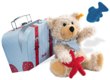click to see Steiff  Charly Dangling With Suitcase in detail