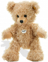 click to see Steiff  Lars Dangling Teddy Bear in detail