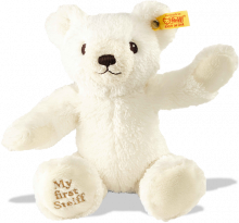 click to see Steiff  'my First' White Teddy Bear in detail