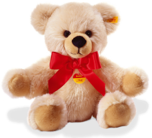 click to see Steiff  Bobby Bear In Cream in detail