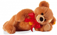 click to see Steiff  Bobby Dangling Teddy Bear in detail
