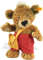 click to see Steiff  Knopf Teddy Bear in detail