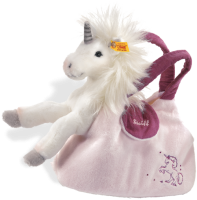 click to see Steiff  Unicorn Starly With Handbag in detail