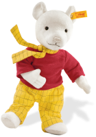 click to see Steiff  Rupert in detail