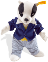click to see Steiff  Billy Badger in detail