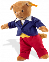 click to see Steiff  Algy Pug - Rupert Bears Friend in detail
