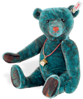 click to see Steiff  Davis Teddy Bear in detail