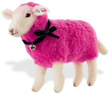 click to see Steiff  Designer's Choice Pinky Sheep in detail