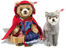 click to see Steiff Little Red Riding Hood And Wolf (ready To Pre-order) in detail