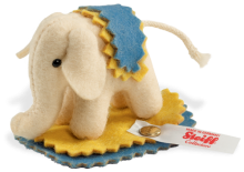 click to see Steiff  135 Year Jubilee Elephant in detail
