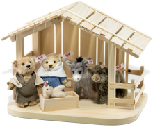 click to see Steiff  Nativity Scene in detail