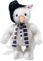 click to see Steiff  Monty Loved Snowman in detail