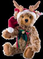 click to see Steiff  Reindeer Teddy Bear in detail