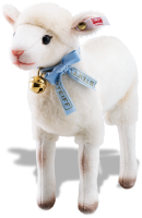 click to see Steiff Lena Lamb in detail