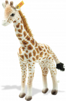 click to see Steiff  Magda Masai Giraffe in detail